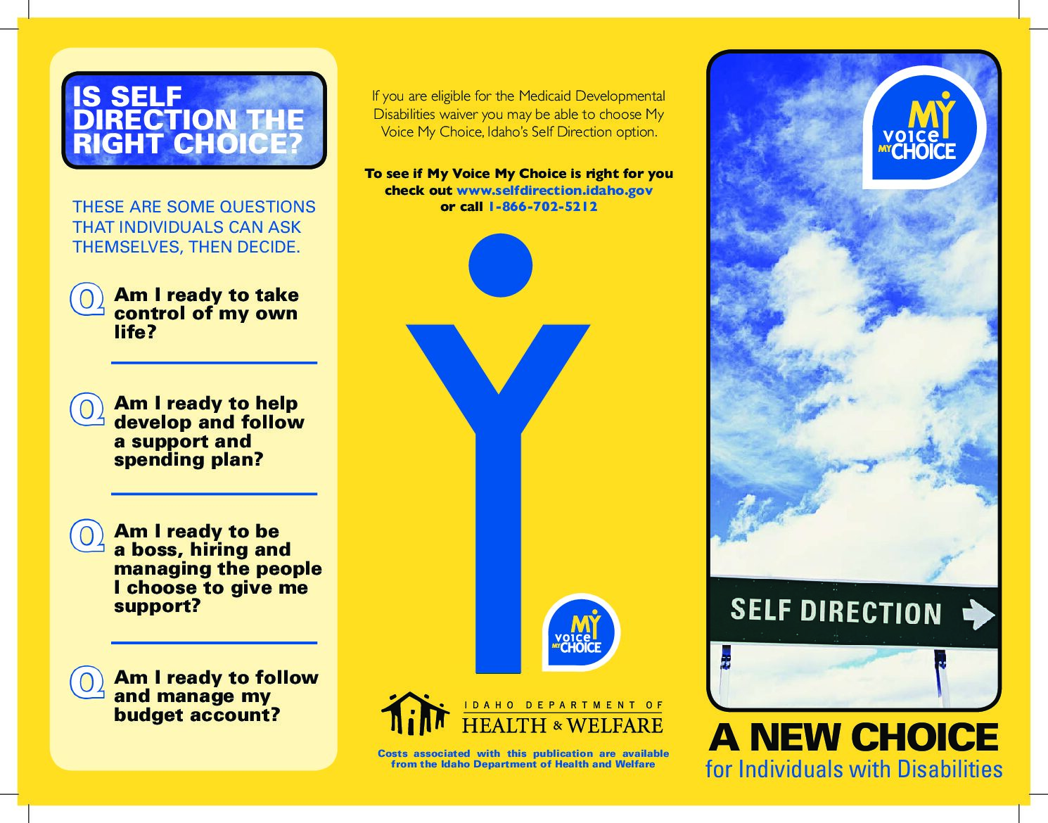 My Voice My Choice – A New Choice for Individuals with Disabilities