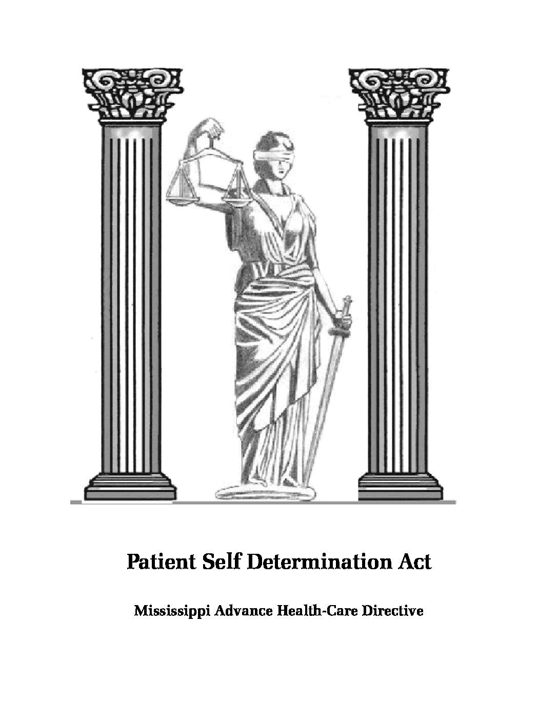 Mississippi Advance Health-Care Directive – Patient Self Determination Act
