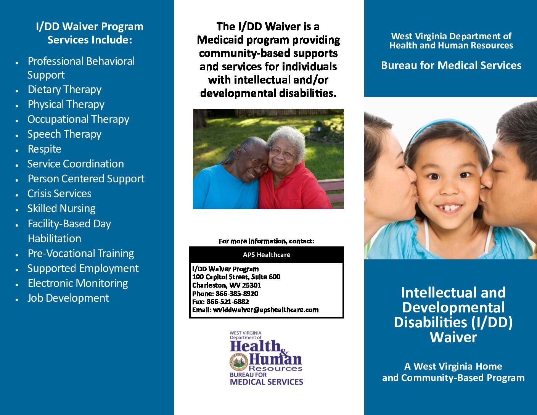 West Virginia's Intellectual and Developmental Disabilities Waiver Brochure