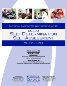 UCEDD Self-Determination Self-Assessment Checklist
